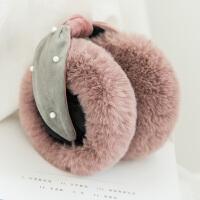 耳罩耳套保暖女毛绒耳包冬季韩版少女可爱防冻折叠耳帽暖