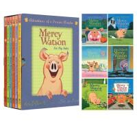 现货 Mercy Watson 小猪梅西系列故事 英文原版 桥梁书 6册礼盒装 含小猪梅西脱险记/扮公主等简单章节书