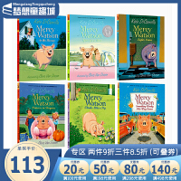 【全店满300减80】#Mercy Watson 小猪梅西系列故事 原版英文桥梁书 6册套装 凯特迪卡米洛 爱德华的奇妙之旅同作者