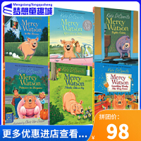 #Mercy Watson 小猪梅西系列故事 原版英文桥梁书 6册套装 凯特迪卡米洛 爱德华的奇妙之旅同作者