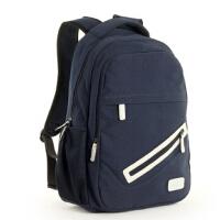 韩版潮流男包双肩包学院帆布包 休闲电脑包旅行包背包中学生书包