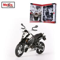 拼装车模摩托车本田/宝马合金拼装摩托车模型组装模型