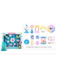 婴儿玩具礼盒婴儿用品高档礼盒套装新生宝宝满月百天*物男孩儿童宝宝玩具 牙胶摇铃玩具10件套礼盒 (送收纳袋) 新生儿