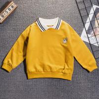 男童宝宝洋气针织衫毛衣潮2019秋季新款儿童韩版中小童套头上衣