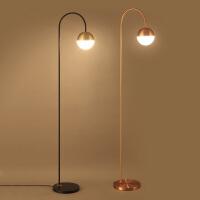 北欧设计落地灯LED创意客厅简约时尚现代书房个性卧室床头落地灯