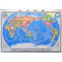 1:2100万世界地图(新版,精裱版) 张晖芳 策划;赵福祥 责任编辑