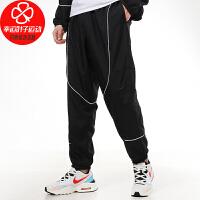 Nike/耐克男裤新款运动裤休闲针织透气耐磨舒适跑步直筒梭织收脚长裤CV1915-010