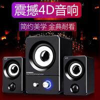 【好�】��X音��P�本�_式�C家用手�C�o��{牙音�酚芯�多媒�w通用超重低音炮小音箱游��2.1��喇叭