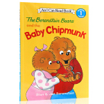 英文原版绘本The Berenstain Bears and the Baby Chipmunk (I Can Rea