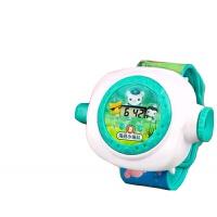 正版海底小纵队手表玩具男女孩电子手表玩具带投影礼物 投影手表