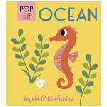 【Pop-up立体书】 Ocean海洋 精致小巧儿童英文童书 海洋动物生物启蒙