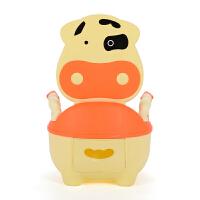 奶牛儿童座便器抽屉式婴儿马桶坐便器幼儿便尿盆宝宝坐便凳