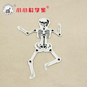 席德STEAM中小学生科学实验人体骨骼材料包拼插绘制益智模型