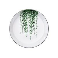 陶瓷盘子创意餐具西餐盘圆盘简约牛排盘子家用圆形碟子菜盘