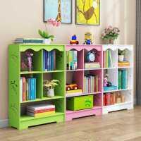 简易书架儿童书柜玩具收纳架宝宝书架置物架多层幼儿园图书绘本架