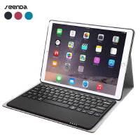 SeenDa苹果iPad Pro、2017新款iPad 无线蓝牙键盘皮套 可拆卸键盘+皮套两用 iPad Pro 9.7/12.9保护套