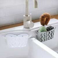 20190701135210212免打孔吸盘收纳挂篮水龙头海绵沥水篮厨房用品用具置物架