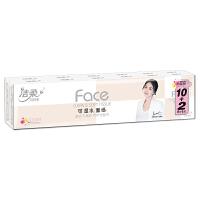 洁柔Face(粉色)百花香味8片4层迷你型纸手帕(12包装)
