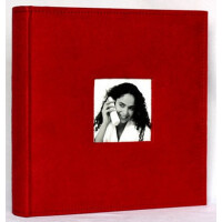 4R/6寸相册200张 麂皮绒布面相册/相簿 带记事 红色