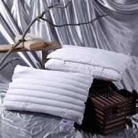 花草枕头/荞麦两用子母枕芯/薄款+厚款L03定制 白色