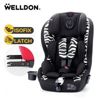 儿童安全座椅儿童座椅ISOFIX硬接口 汽车用宝宝坐椅9个月-12岁
