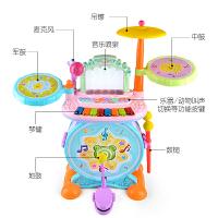 玩具开学季创育琴宝宝早教兴趣架子鼓乐器儿童三合一弹奏敲打声光玩具