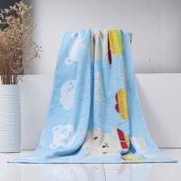 儿童浴巾可爱彩虹熊舒适大毛巾柔软舒适吸水定制