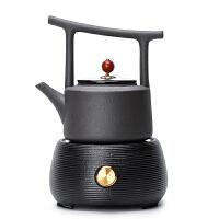 唐丰过滤煮茶壶陶瓷提梁壶大容量烧水壶煮茶器套装家用简约电陶炉
