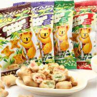 EGO金小熊饼干整箱6斤 零食品点心 马来西亚进口(巧克力,牛奶,哈密瓜,草莓留言备注口味)