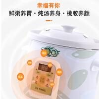 天际煮粥宝陶瓷电炖锅全自动煲汤锅煮粥神器家用大容量预约定时