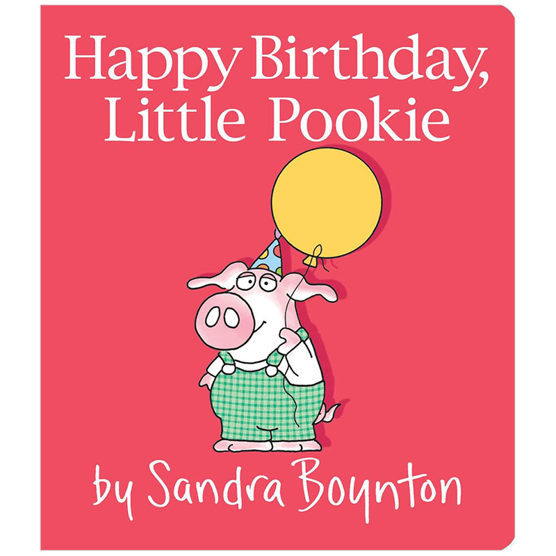 Little Pookie Happy Birthday 小布奇生日快乐 英文原版儿童绘本 善本图书 汇聚全球出版物,让阅读改变生活,给你无限知识