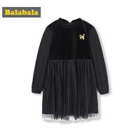 巴拉巴拉�和�裙子女童�B衣裙春季2019新款中大童公主裙童�b�z�q裙