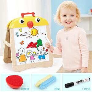 [当当自营]特宝儿3岁宝宝双面磁性写字板小鸡便携画板 120300
