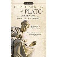 英文原版 柏拉图对话 Signet Classics Great Dialogues of Plato