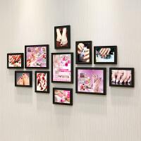 美甲照片墙贴纸会所指甲壁画美容院化妆品店背景墙装饰相框墙挂画抖音