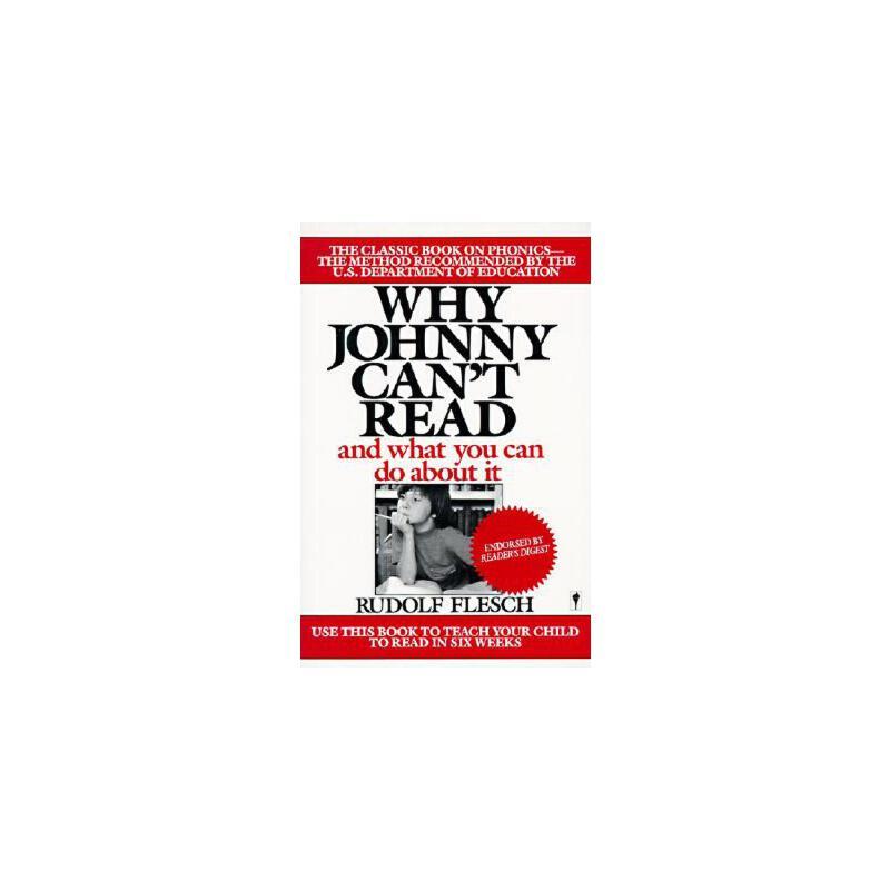 【预订】Why Johnny Can't Read?  And What You Can Do About It 预订商品,需要1-3个月发货,非质量问题不接受退换货。
