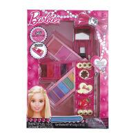 指甲贴儿童专业化妆品玩具表演彩妆套装安全女孩化妆盒KLD