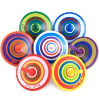 旋转陀螺 5个装小陀螺 手动旋转陀螺幼儿园教具小玩意男女孩子传统木质玩具