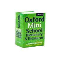 迷你牛津词典同义词字典 Oxford Mini School Dictionary and Thesaurus 英文原