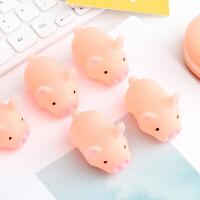 创意个性粉色小猪猪解压捏捏叫发声玩具可爱发泄减压恶搞整蛊玩具