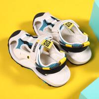 男童凉鞋小童透气夏季包头儿童中大童男孩沙滩鞋