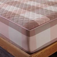 纯棉床笠加厚夹棉席梦思床罩保护套单件全棉床垫防滑1.5米1.8m床c