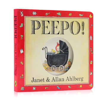 Peepo! [Boardbook] 经典宝宝书(卡板书, 30周年纪念版) ISBN 9780141337425英语英文原版绘本