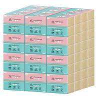 【特价清仓】蓝漂 竹叶情竹浆本色抽纸36包 270张/包