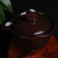 【���x】陶瓷�w碗大�手抓�嘏莶柰氲禄�白瓷普洱茶碗功夫茶具三才碗茶杯子