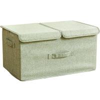 折叠衣服收纳箱布艺宿舍衣物收纳盒储物箱家用整理箱床上收纳箱子