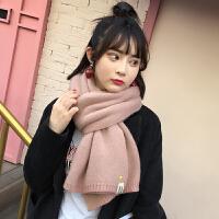 围巾女秋冬季韩版学生针织可爱百搭日系小清新ins少女心围脖