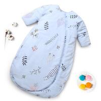 婴儿床上用品婴儿睡袋宝宝春秋冬儿童防踢被加厚四季通用婴儿被子YW28
