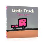 英文原版绘本 Little Truck 小卡车 纸板书 日本绘本大师五味太郎作品 Taro Gomi 儿童英语启蒙图画