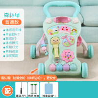 婴儿学步车手推车6-18个月防侧翻女宝宝学走路儿童助步车男孩玩具